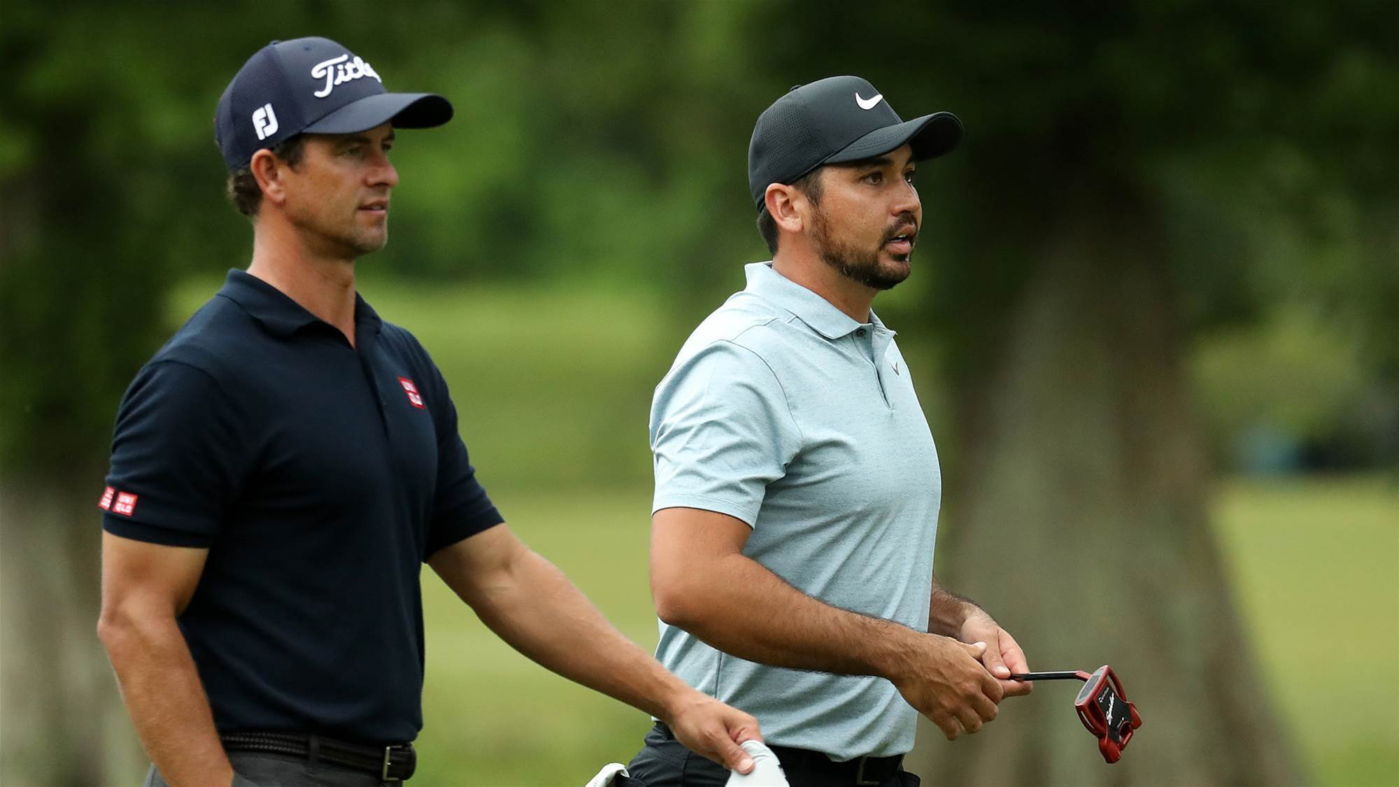 Weather halts play at Zurich Classic