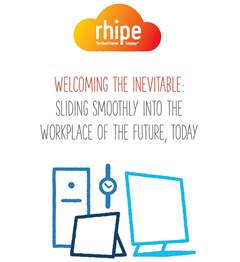 Welcoming the inevitable: Sliding smoothly into the workplace of the future, today