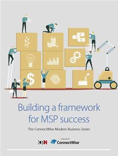 Build a framework for MSP success