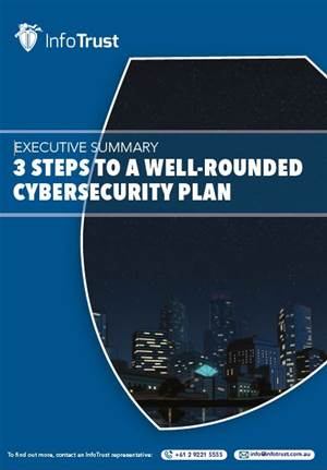 3 steps to a well-rounded cybersecurity plan