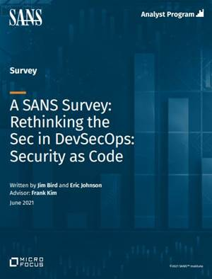 How Security as Code changes development and deployment for the cloud