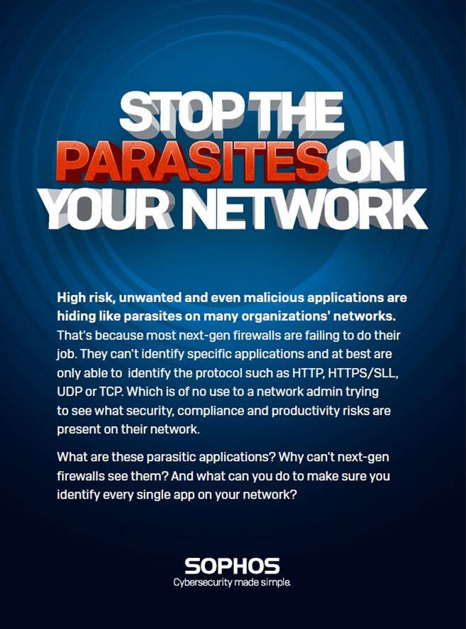 Stop Parasites on your Network with Sophos