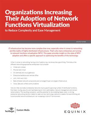Organizations Increasing Their Adoption of NFV