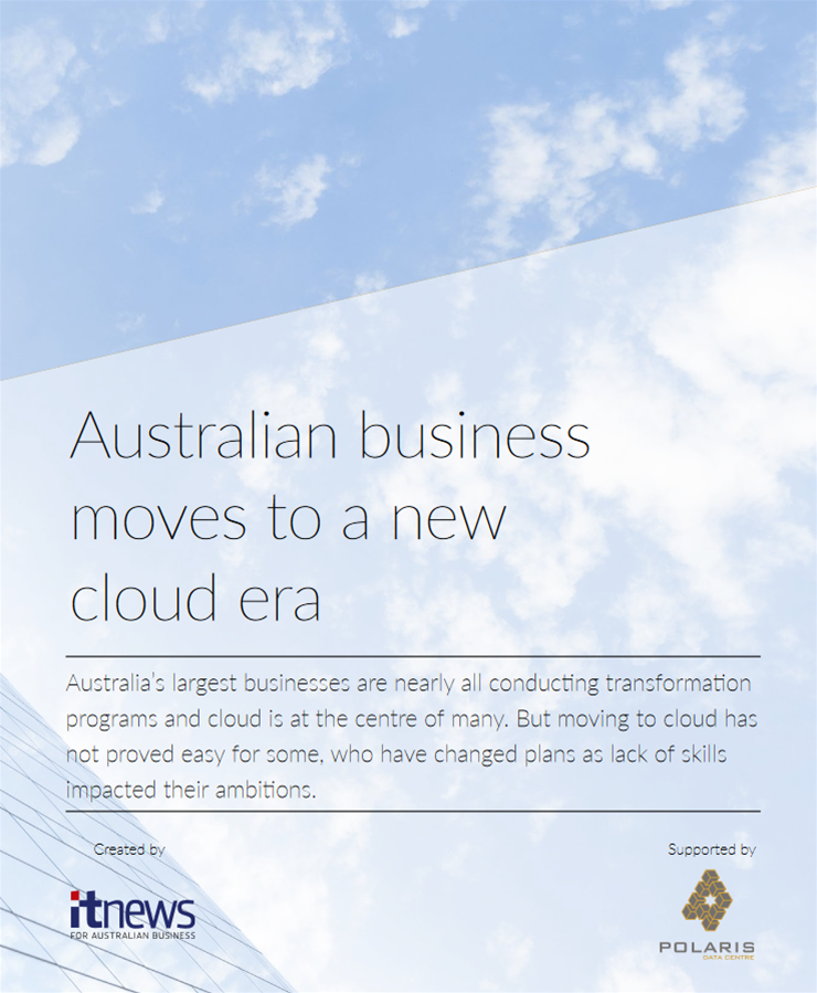 Australian business moves to a new cloud era