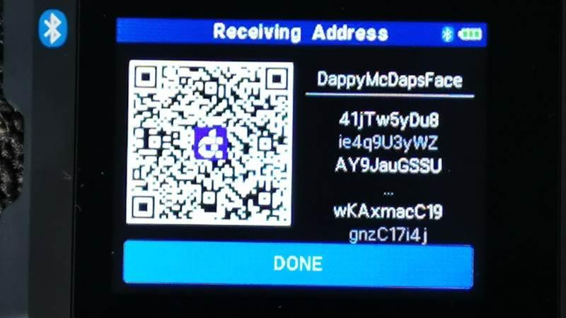 DAPS coin SecuX W20