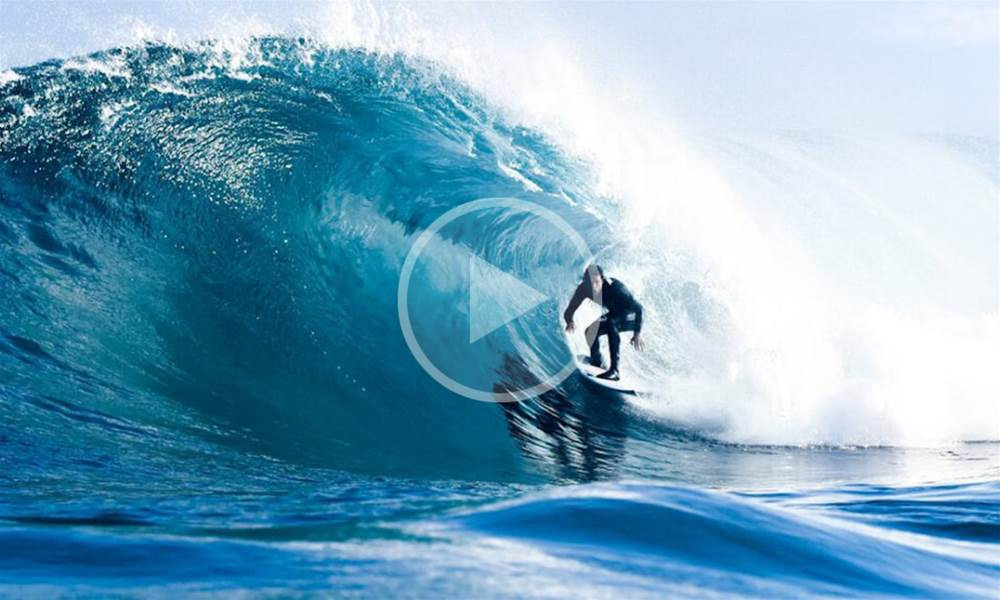 Brett Burcher Gets Deep in Blue
