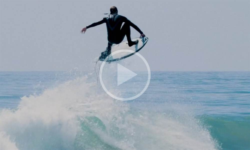 Jake Kelley Enjoys Winter's Last Call in California