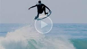 Jake Kelley Enjoys Winter's Last Call in California