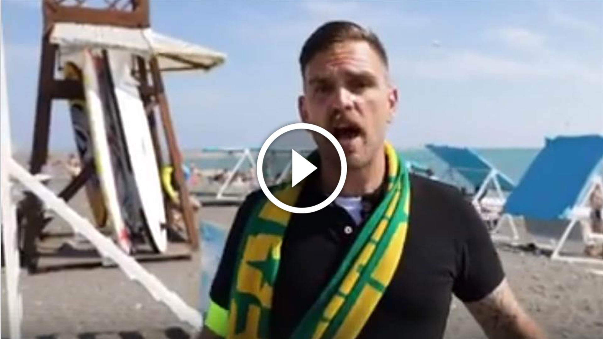 Watch: Some crazy Cahill fandom on the streets of Sochi