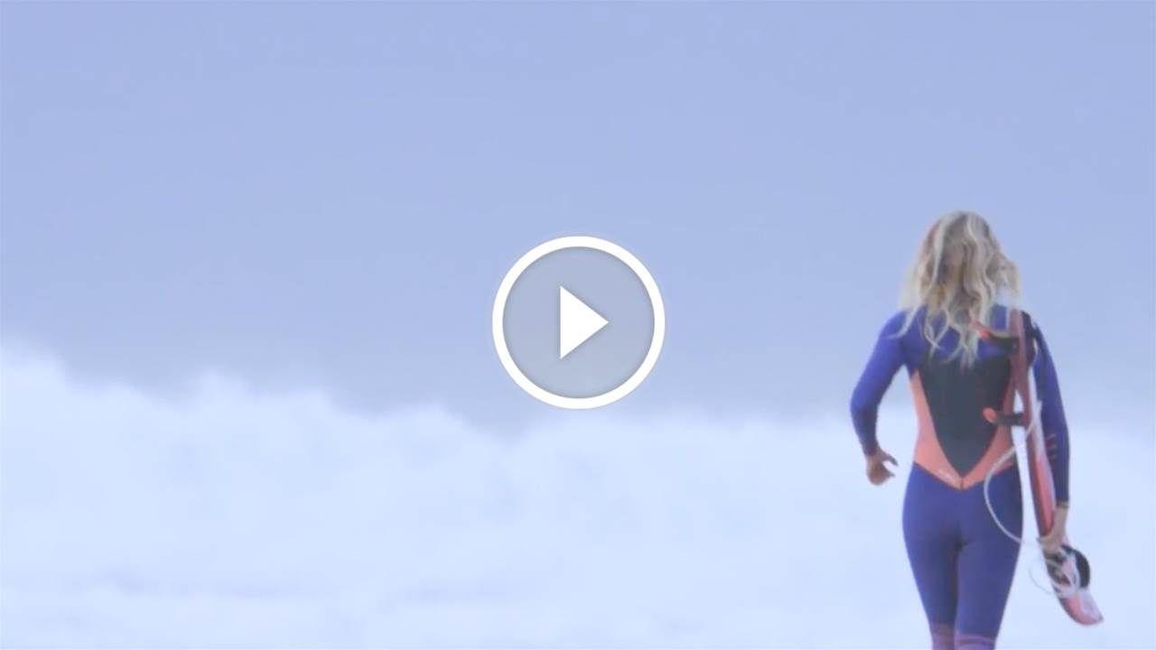 Steph Gilmore's First J-bay Wave