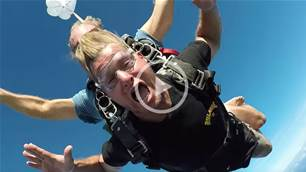 Occ and Taj Go Skydiving