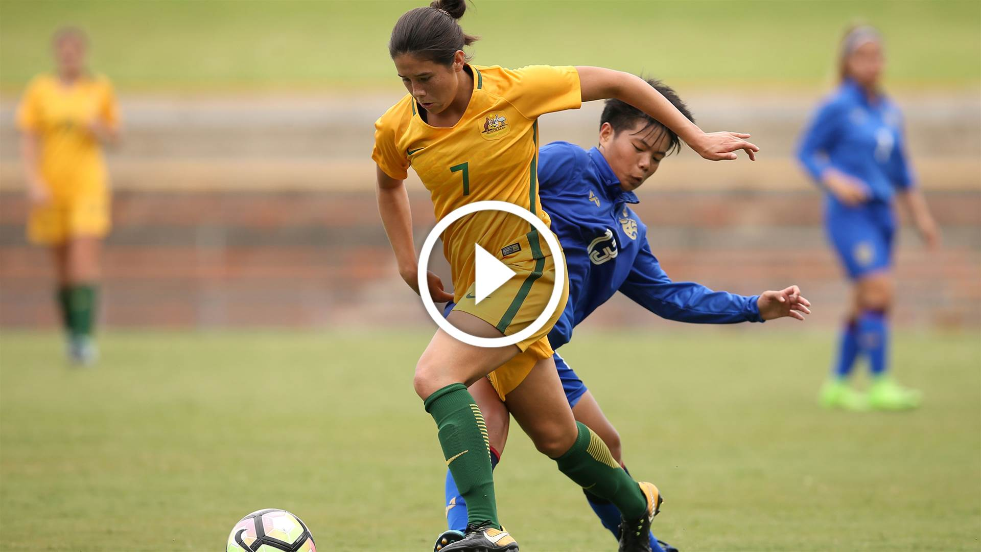 Watch Young Matildas take on Hong Kong LIVE!