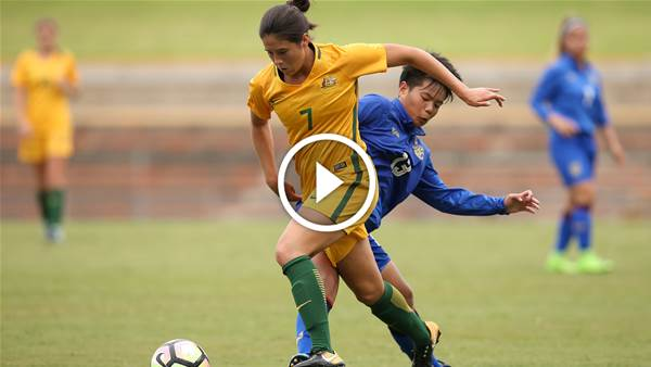 Watch Young Matildas take on Hong Kong LIVE!