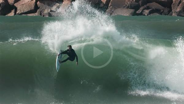 Watch Jordy Smith Dismantle Europe