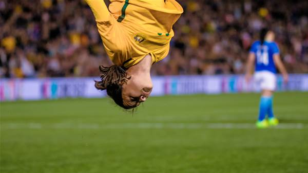 'Crazy' Sam Kerr goes global