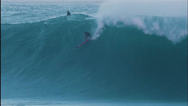 Enjoy the Sacred Ritual of a Giant Waimea Session with Nathan Florence