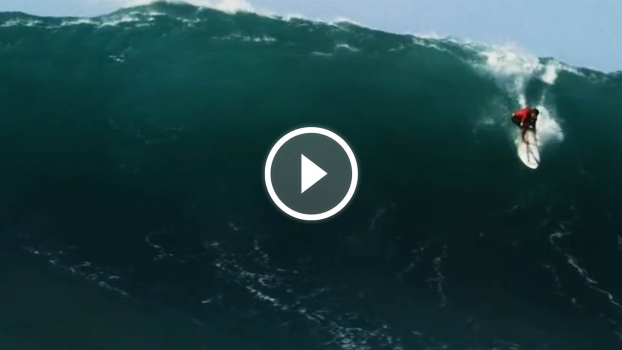 Koa Rothman: Just Another Day at Waimea Bay
