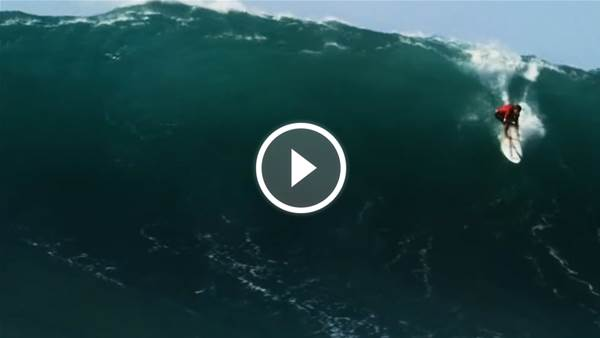 Koa Rothman: Just Another Day at Waimea Bay
