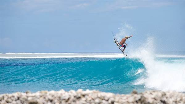 Italo Ferreira, Tyler Warren and Eithan Osborne are Halfway to the Horizon