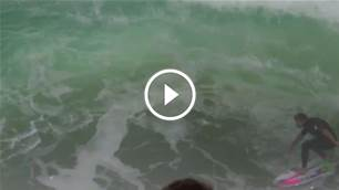 A Snapper Rocks Master-Class by Mick and Joel