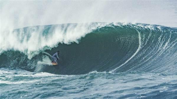 Watch: Italo Ferreira Milk a Brazilian Swell Dry