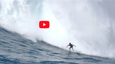 Watch: Mason at Waimea on a day that closed out The Bay