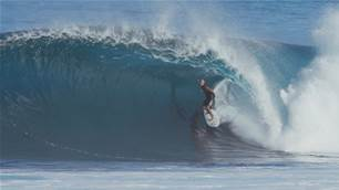 Watch: The Mason and Michael Ho Show at Pipeline