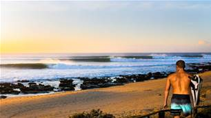 Watch: Koa Smith Surf Perfect J-Bay in Boardshorts