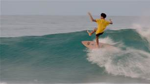 Watch: Mikey February Bridging the Gap on his Twin Pin in Indo