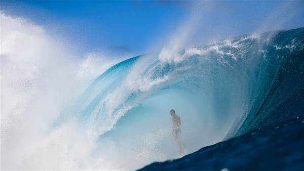 The Voice Within that Drive's Eimeo Czermak's Teahupo'o Attack