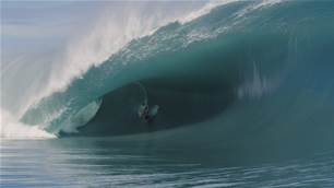 Watch: Friday the 13th at Teahupo'o with Nate Florence