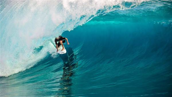 Watch: The Day Before at Teahupo'o with Nathan Florence