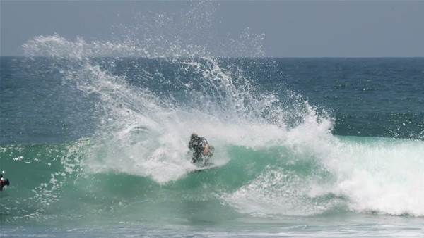 Watch: One Minute of Ethan Ewing Putting the Sword to Trestles