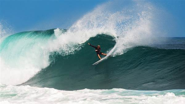 Watch: John John Florence Surf as a Goofy