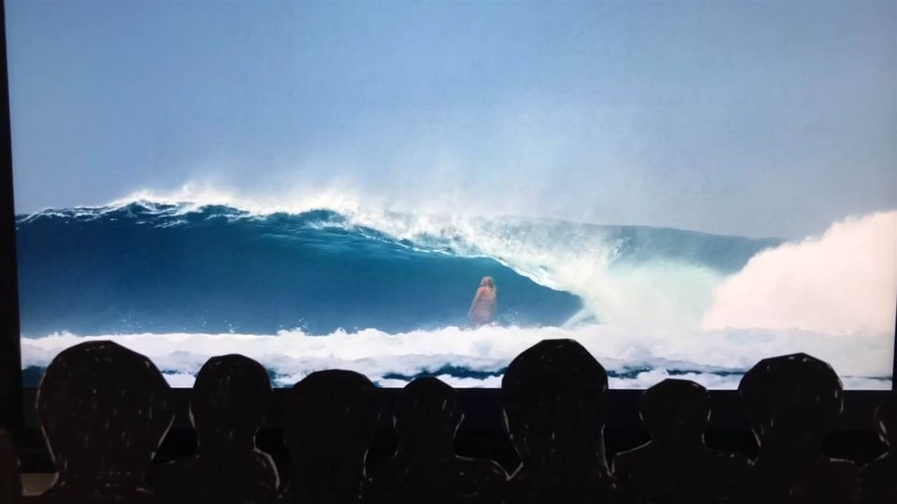 Steph Gilmore delivers a lesson in sessioning a perfect reef pass.