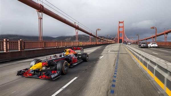 Ricciardo's USA Red Bull road trip