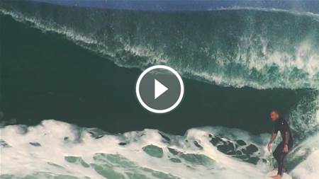 Barrinha: Another one of surfing's happy accidents.