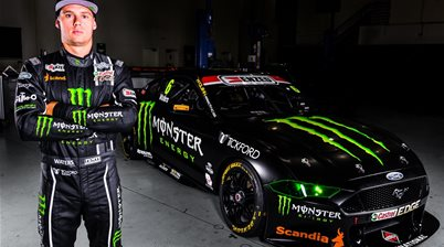 Cam Waters' Mustang Supercar breaks cover