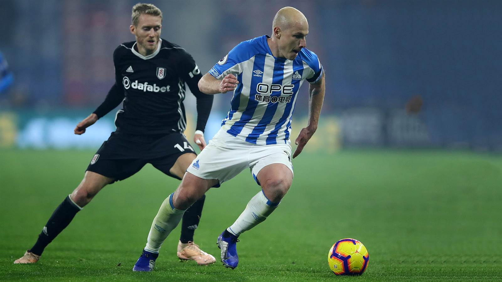 Watch! Mooy celebrates his 100 with vital win