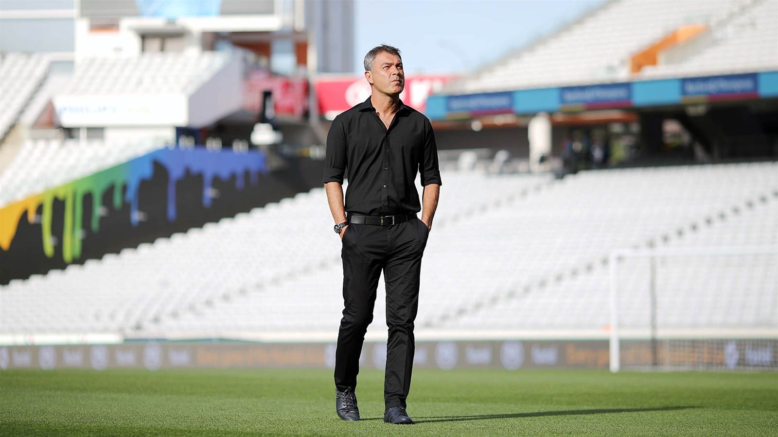 Mark Rudan's emotional post-match presser