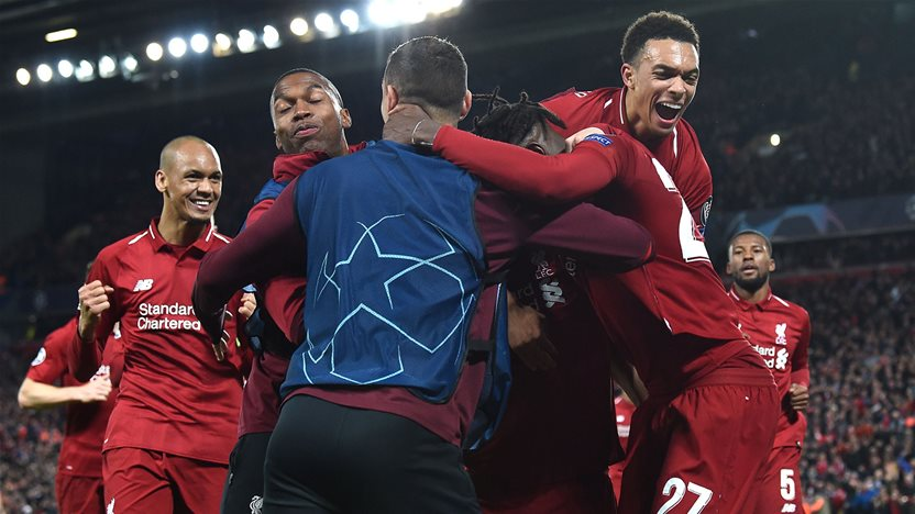 Watch! Liverpool's amazing win over Barcelona
