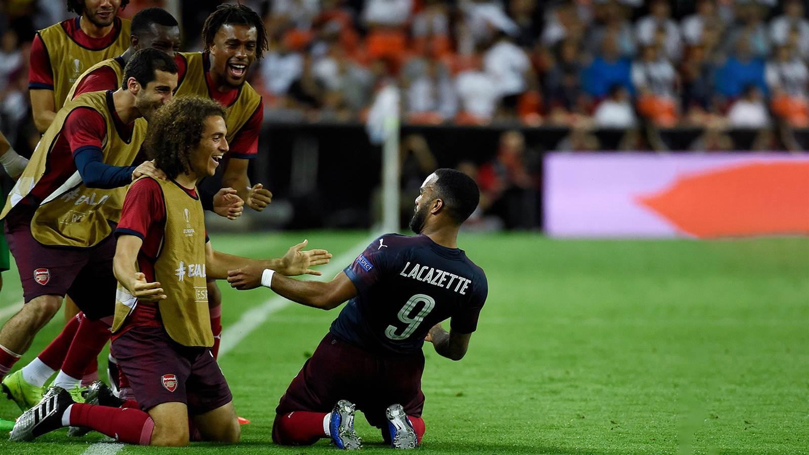 Watch! Arsenal smash Valencia