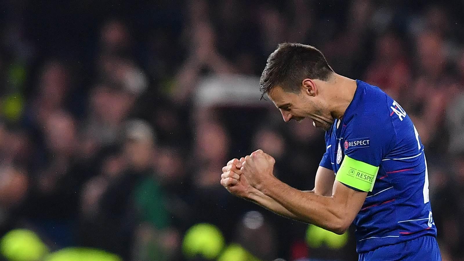 Watch! Chelsea's epic Europa shootout win over Frankfurt