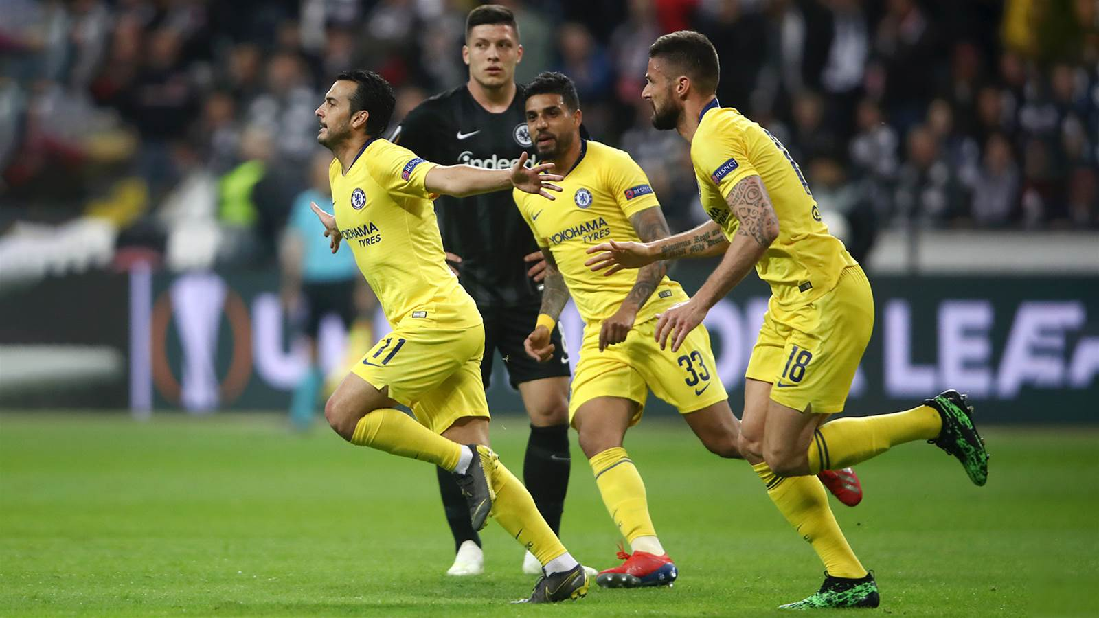 Watch! Frankfurt v Chelsea