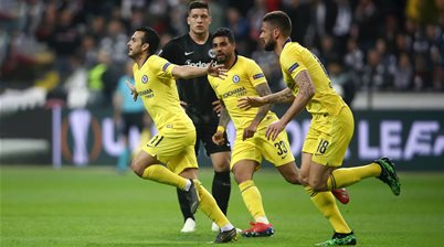 Watch! Frankfurt v Chelsea