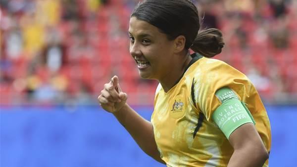 Watch! Matildas shocked by Italy