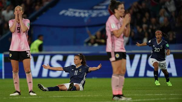 Watch! Argentina shatter Scotland hearts