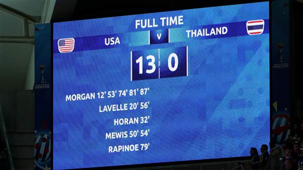 Watch! USA destroy Thailand
