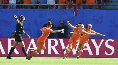 Watch! Dutch book maiden World Cup semi