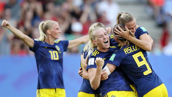 Watch! Sweden breaks German hearts